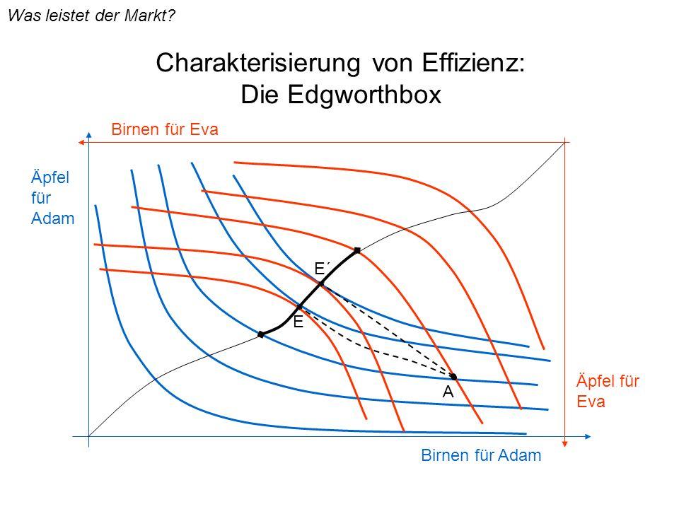 Charakterisierung von Effizienz: Die Edgworthbox