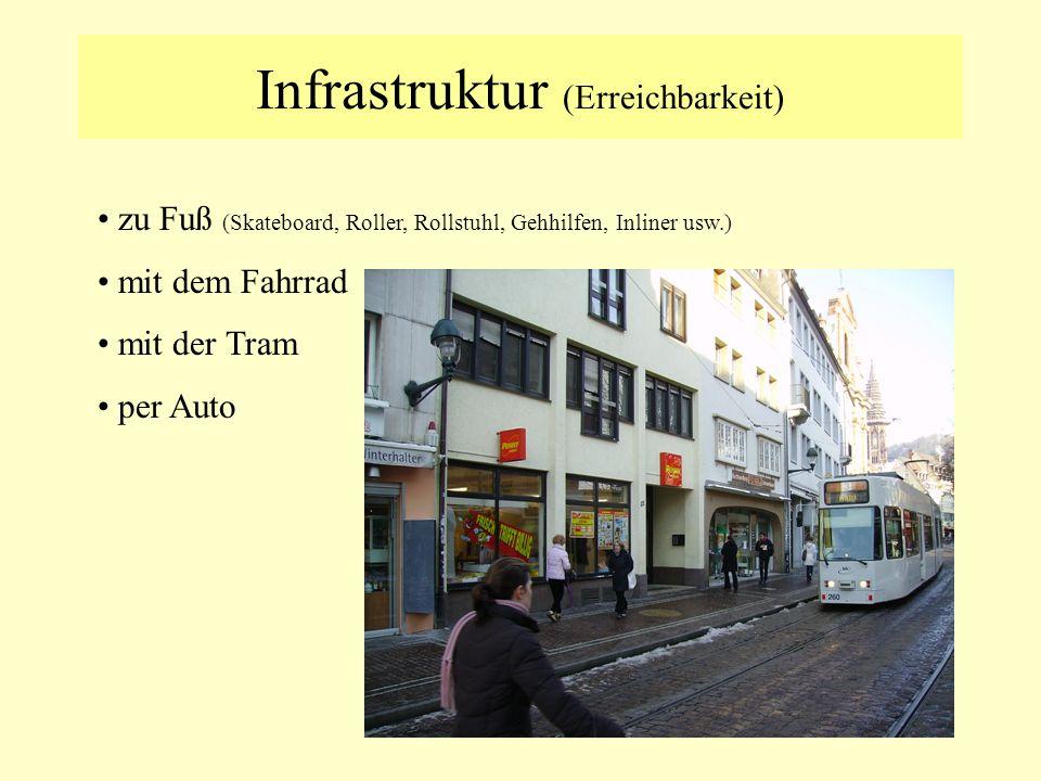 Infrastruktur (Erreichbarkeit)