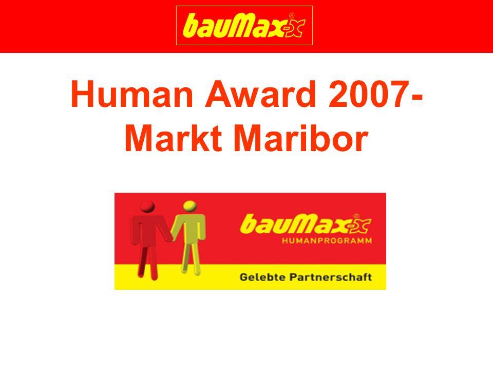 Human Award 2007- Markt Maribor