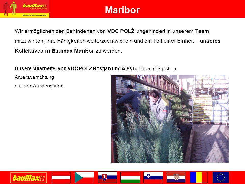 Maribor Wir ermöglichen den Behinderten von VDC POLŽ ungehindert in unserem Team.