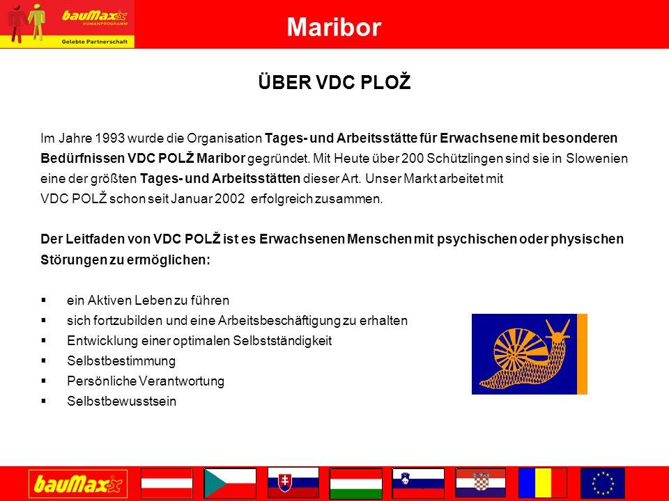 Maribor ÜBER VDC PLOŽ. Im Jahre 1993 wurde die Organisation Tages- und Arbeitsstätte für Erwachsene mit besonderen.