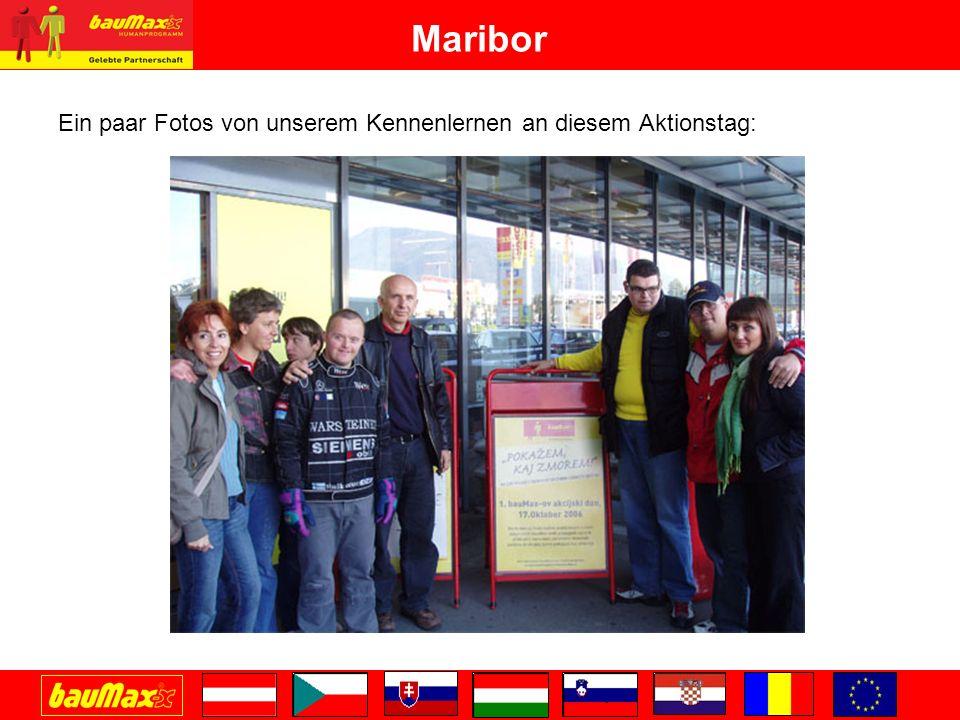 Maribor Ein paar Fotos von unserem Kennenlernen an diesem Aktionstag: