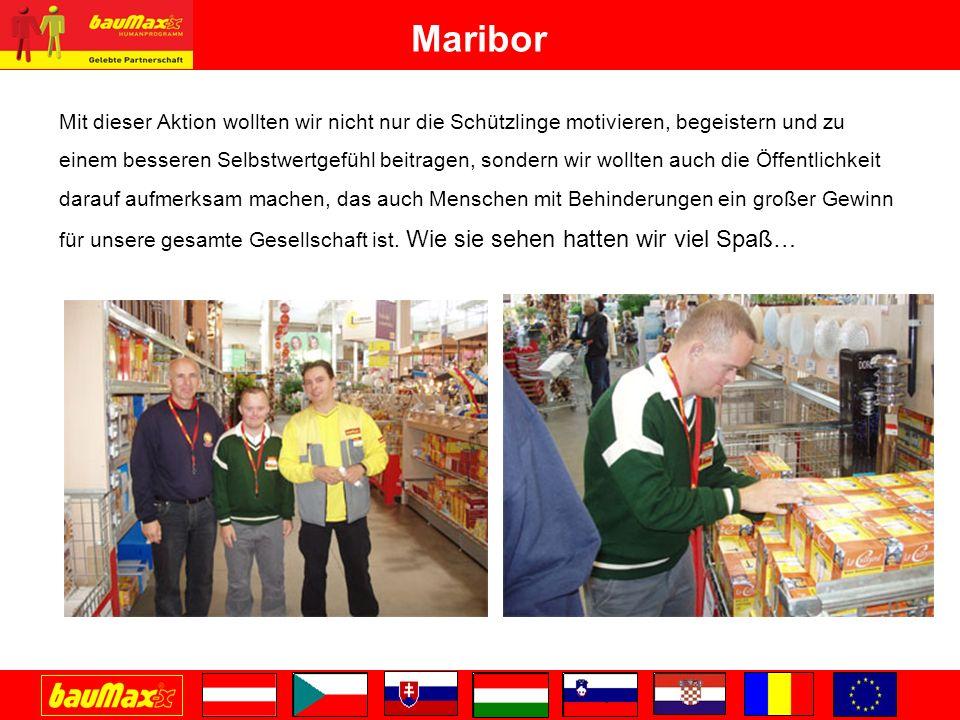 Maribor Mit dieser Aktion wollten wir nicht nur die Schützlinge motivieren, begeistern und zu.