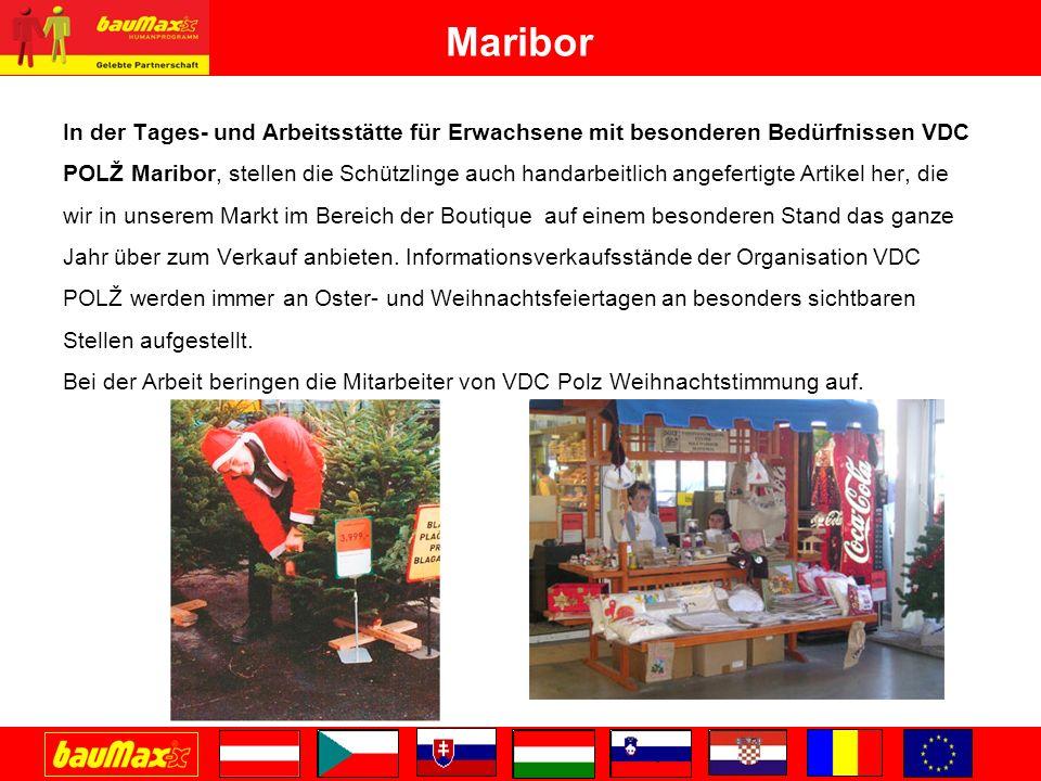 Maribor In der Tages- und Arbeitsstätte für Erwachsene mit besonderen Bedürfnissen VDC.