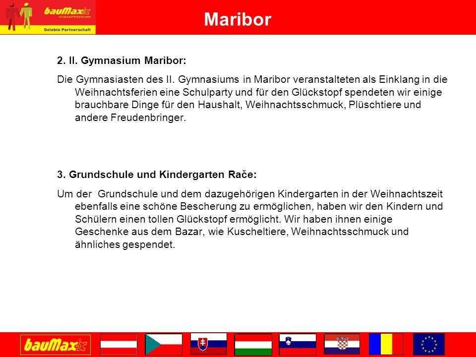 Maribor 2. II. Gymnasium Maribor: