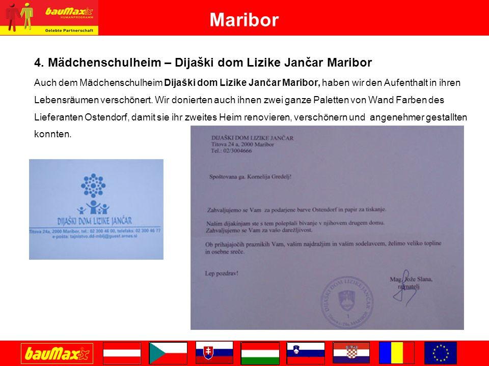 Maribor 4. Mädchenschulheim – Dijaški dom Lizike Jančar Maribor