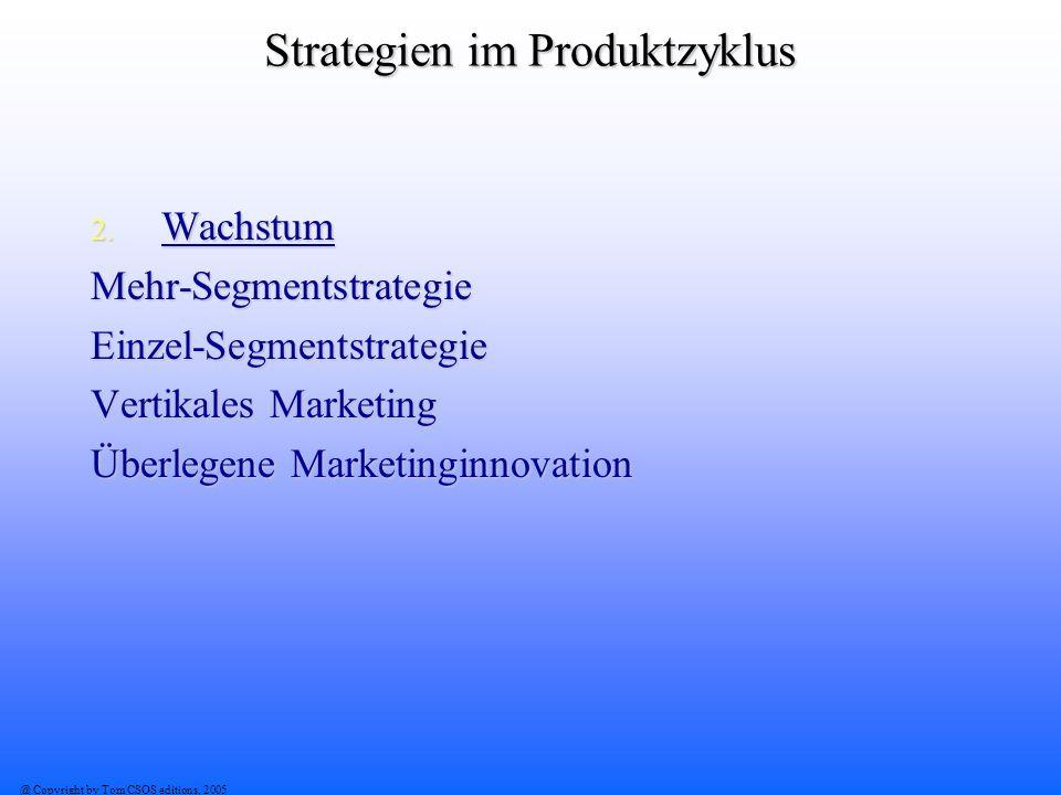 Strategien im Produktzyklus