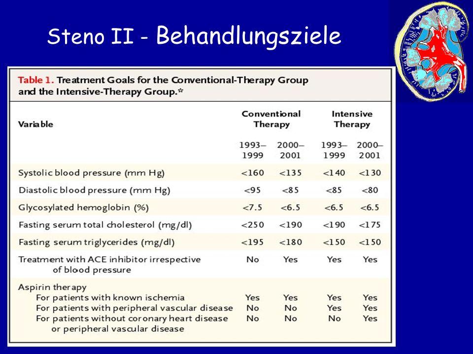 Steno II - Behandlungsziele