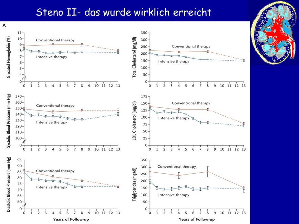 Steno II- das wurde wirklich erreicht