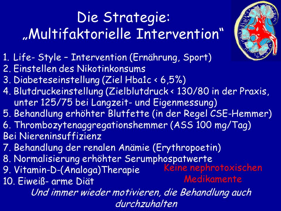 "Die Strategie: ""Multifaktorielle Intervention"
