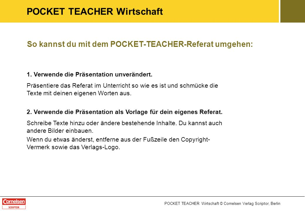 pocket teacher wirtschaft ppt video online herunterladen. Black Bedroom Furniture Sets. Home Design Ideas