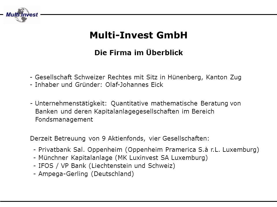 Multi-Invest GmbH Die Firma im Überblick