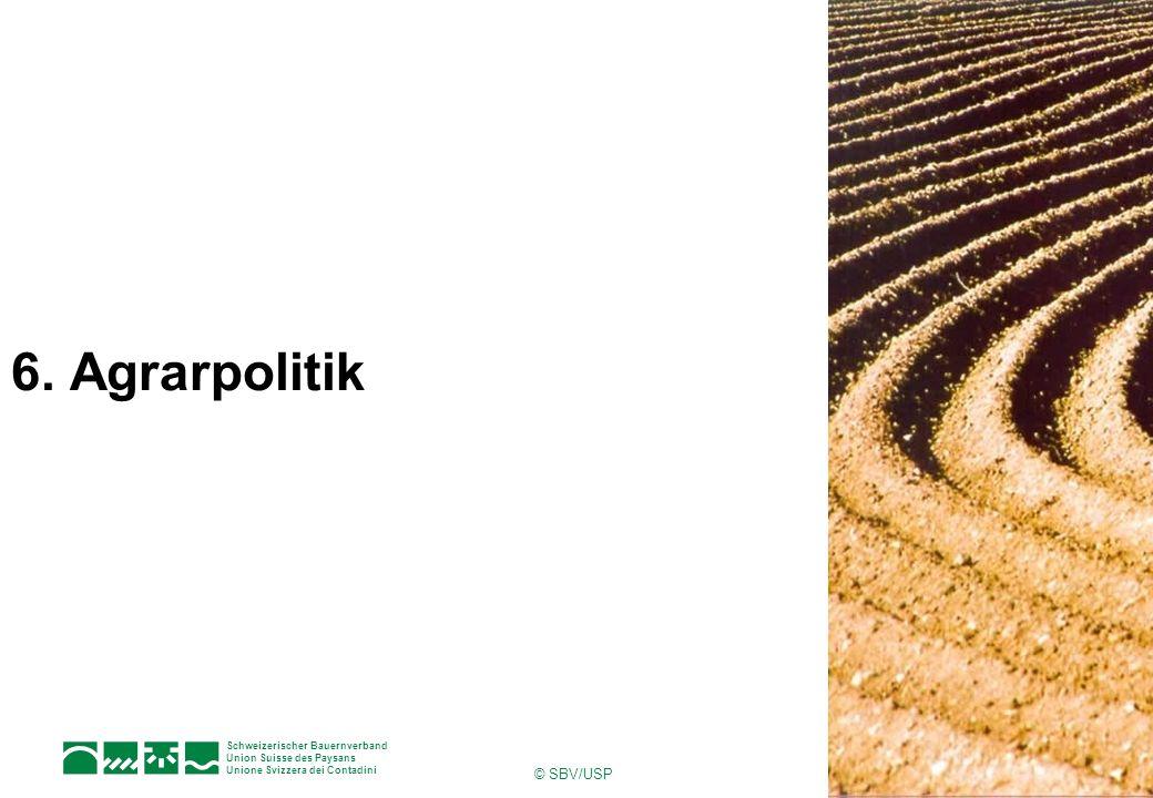 6. Agrarpolitik © SBV/USP
