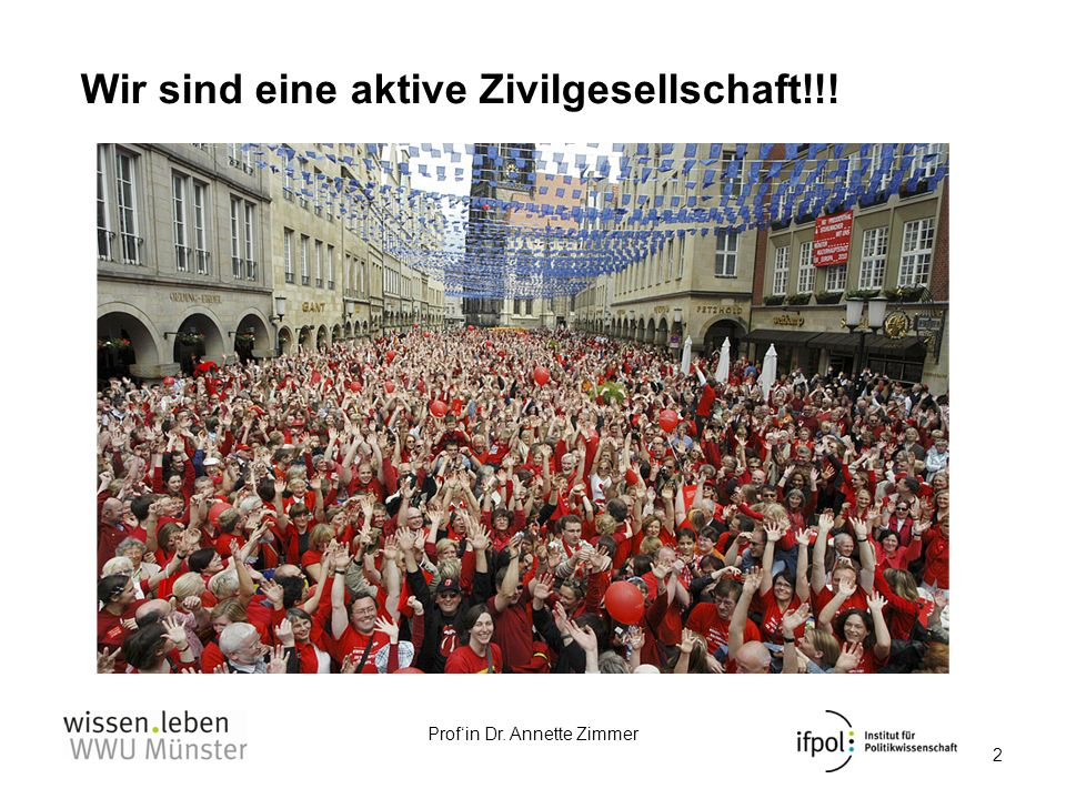 Wir sind eine aktive Zivilgesellschaft!!!