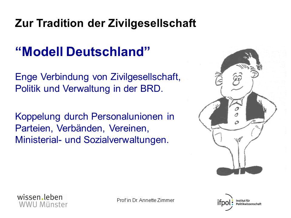 Modell Deutschland Zur Tradition der Zivilgesellschaft