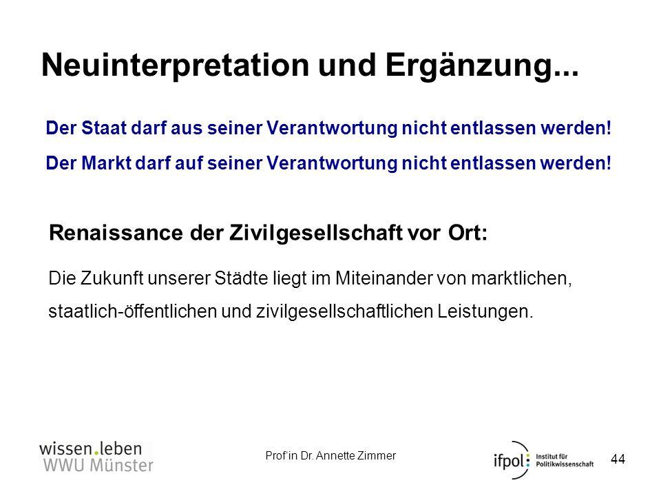 Neuinterpretation und Ergänzung...