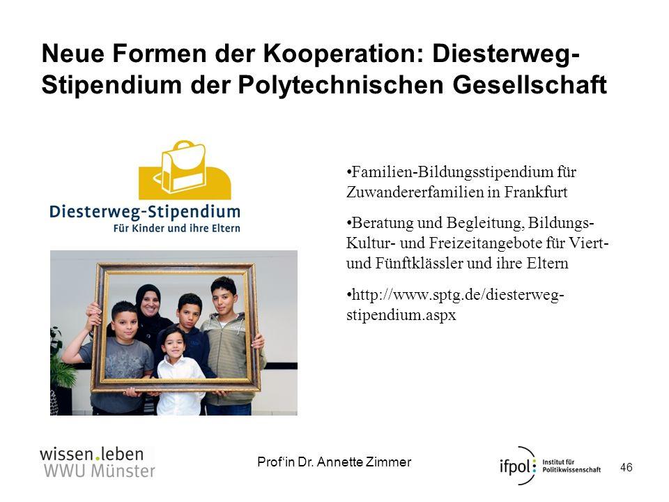 Neue Formen der Kooperation: Diesterweg-Stipendium der Polytechnischen Gesellschaft