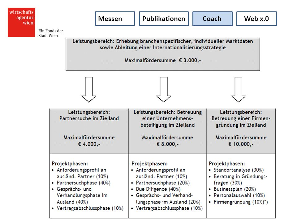 Messen Publikationen Coach Web x.0