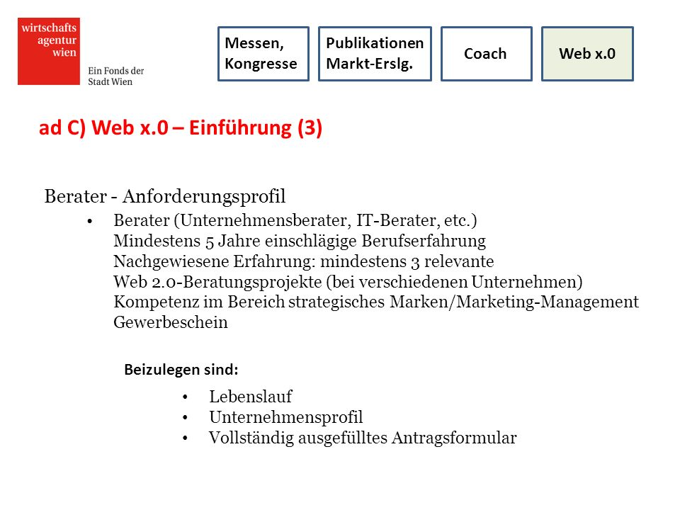 ad C) Web x.0 – Einführung (3)