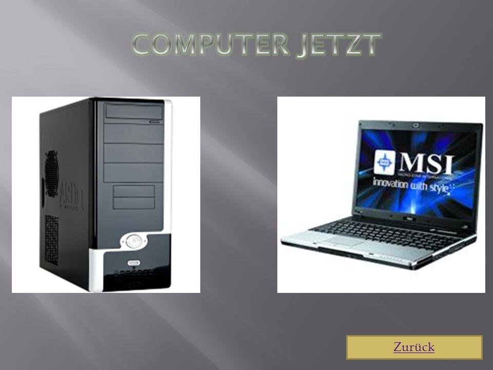 Computer jetzt Zurück