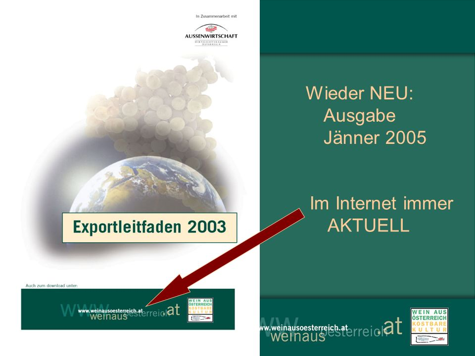 Wieder NEU: Ausgabe Jänner 2005