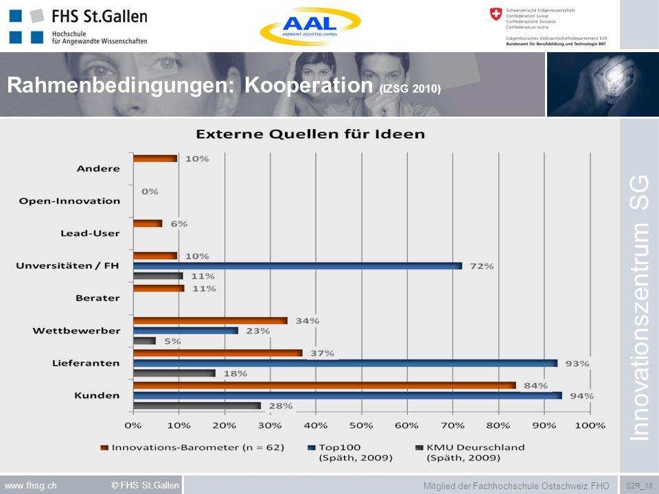 Rahmenbedingungen: Kooperation (IZSG 2010)