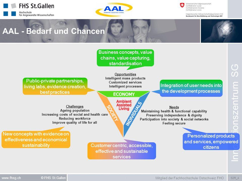 AAL - Bedarf und Chancen