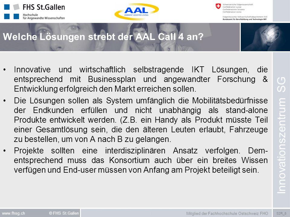 Welche Lösungen strebt der AAL Call 4 an