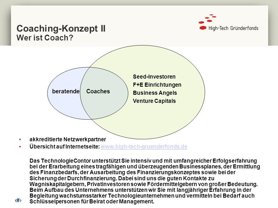 Coaching-Konzept II Wer ist Coach