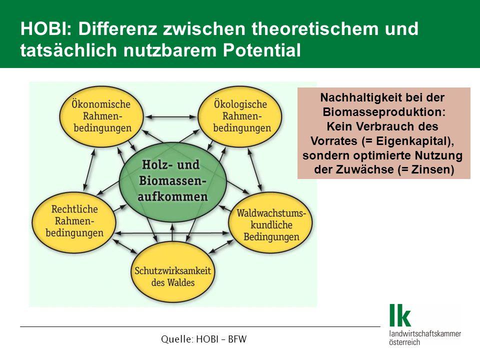 Nachhaltigkeit bei der Biomasseproduktion: