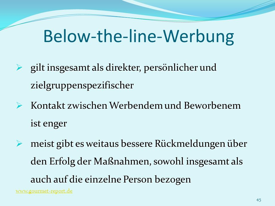 Below-the-line-Werbung