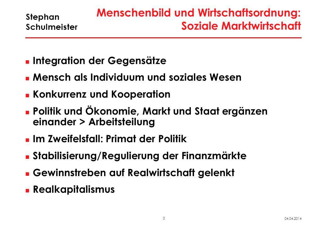 """Rahmenbedingungen im """"golden age of capitalism 1950 bis ~1975"""
