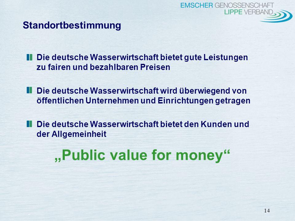 """""""Public value for money"""