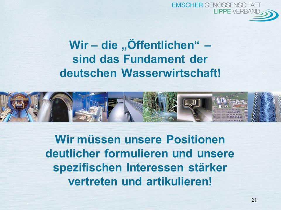 """Wir – die """"Öffentlichen – deutschen Wasserwirtschaft!"""