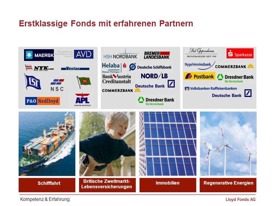 Erstklassige Fonds mit erfahrenen Partnern