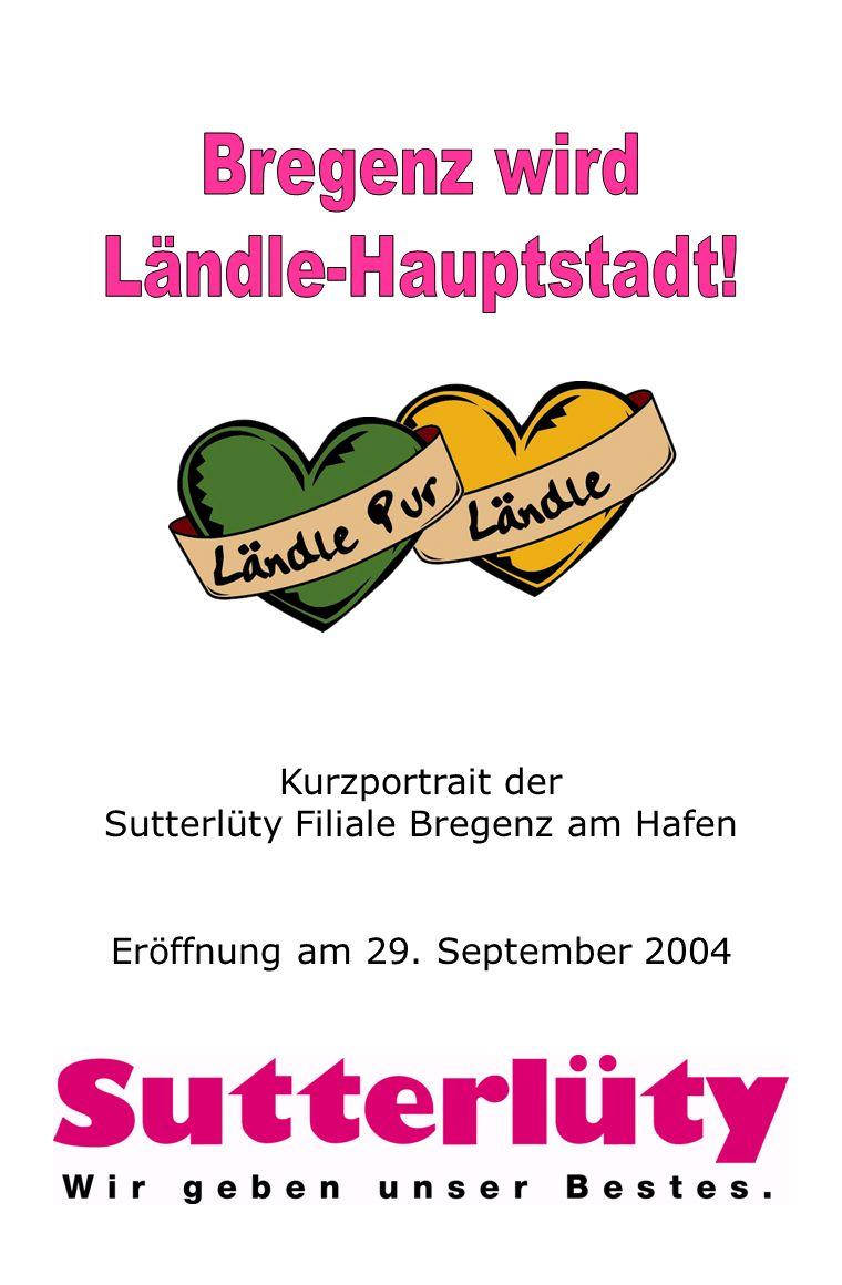 Bregenz wird Ländle-Hauptstadt!