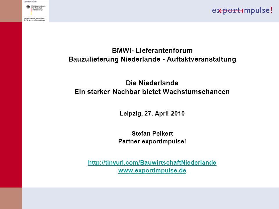 BMWi- Lieferantenforum