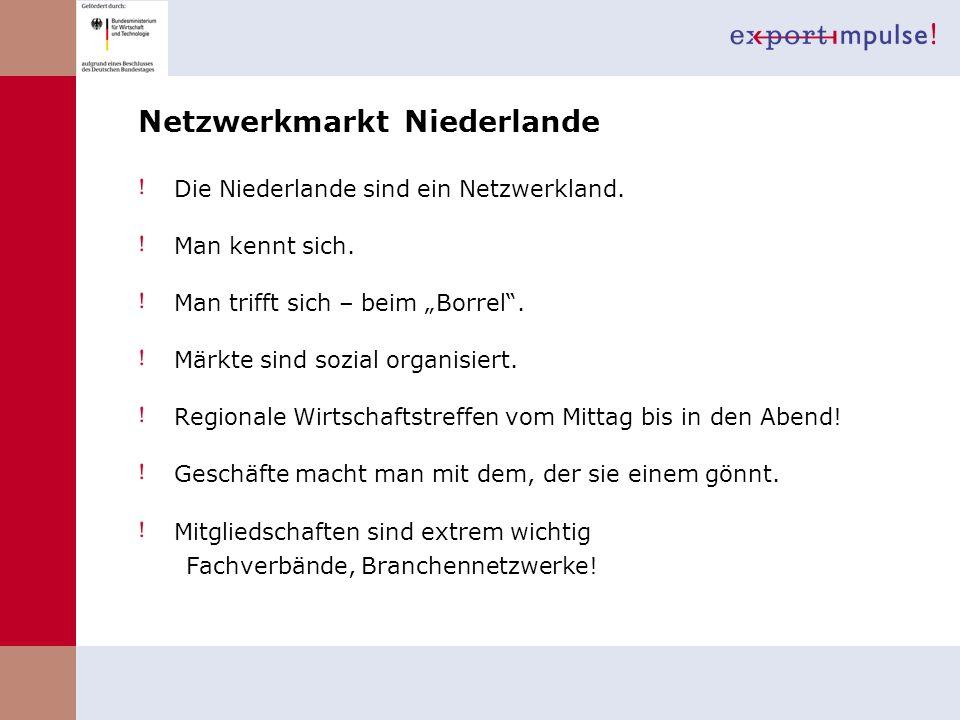 Netzwerkmarkt Niederlande