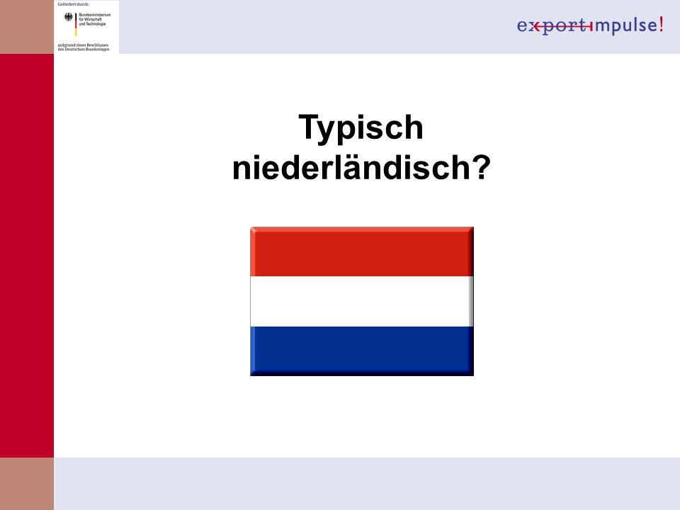 Typisch niederländisch