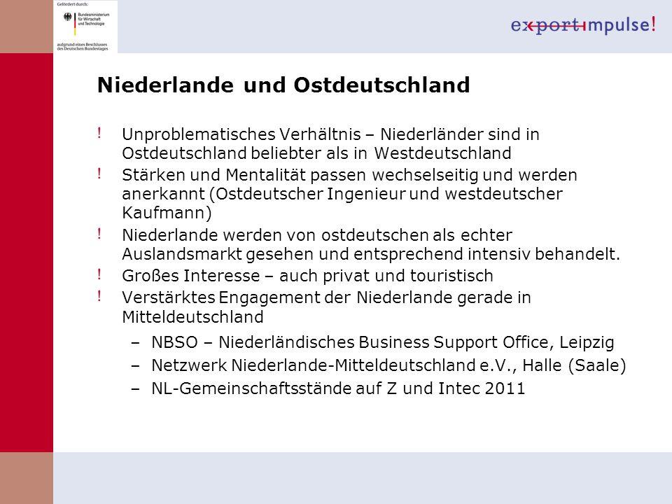 Niederlande und Ostdeutschland