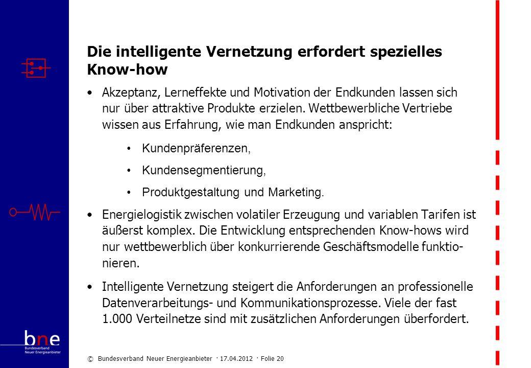 Die intelligente Vernetzung erfordert spezielles Know-how