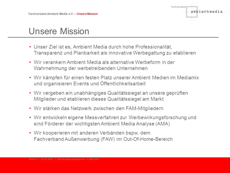 Fachverband Ambient Media e.V. – Unsere Mission