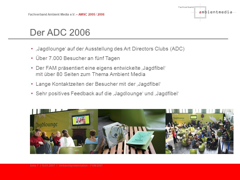 Fachverband Ambient Media e.V. – AMSC 2005 / 2006