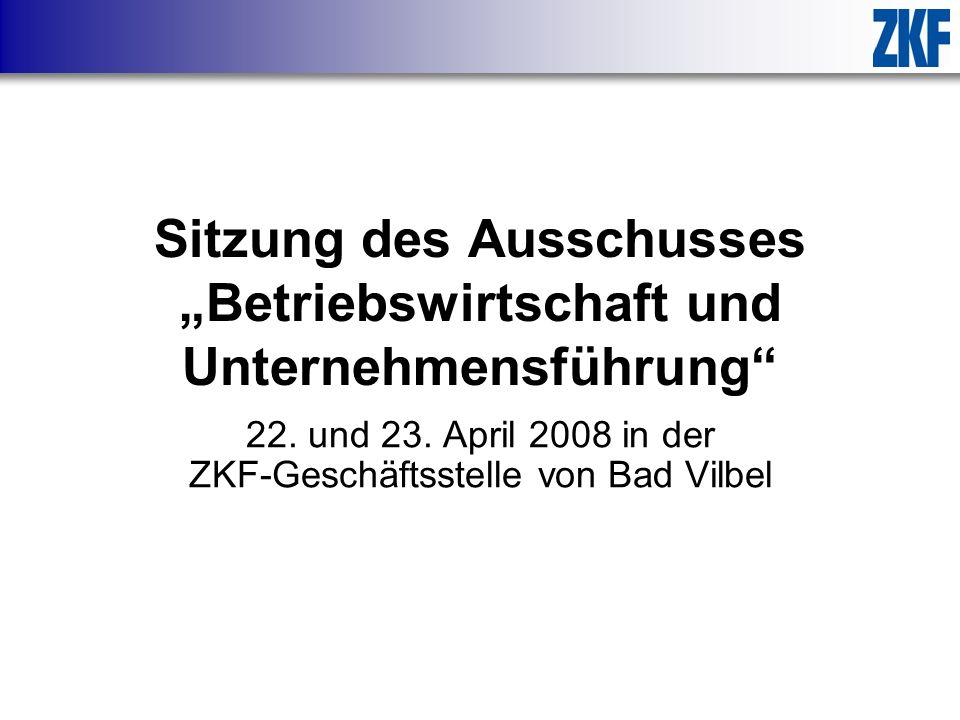 """Sitzung des Ausschusses """"Betriebswirtschaft und Unternehmensführung"""