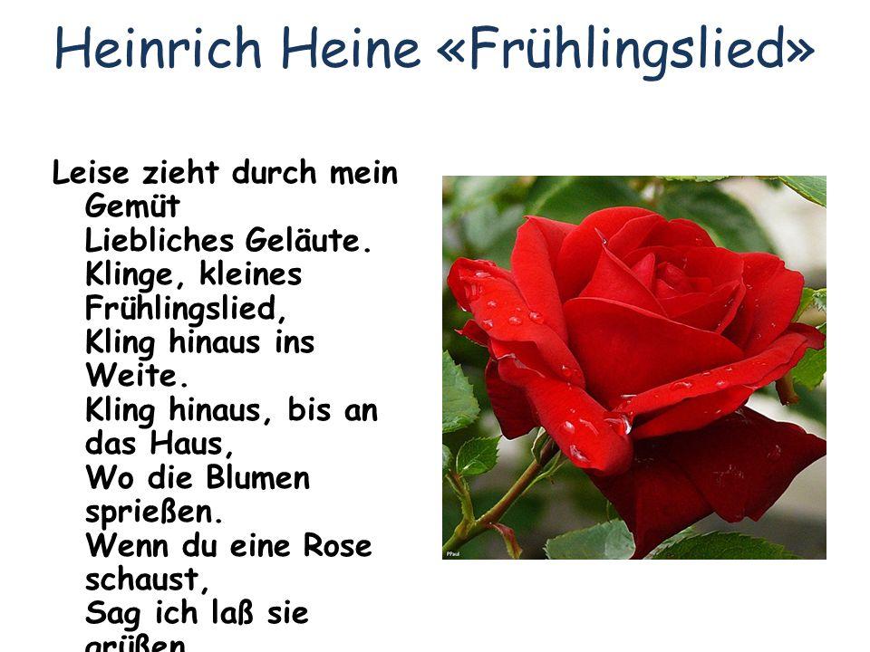 Heinrich Heine «Frühlingslied»