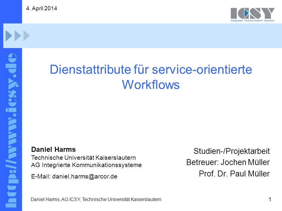 Dienstattribute für service-orientierte Workflows