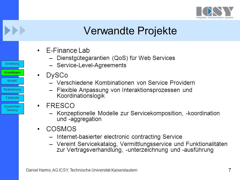Verwandte Projekte E-Finance Lab DySCo FRESCO COSMOS