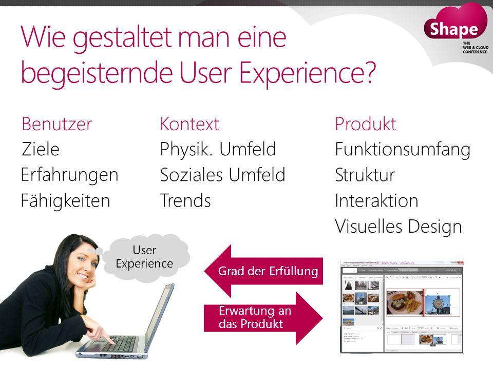 Wie gestaltet man eine begeisternde User Experience