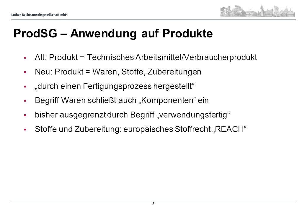 ProdSG – Verbraucherprodukte
