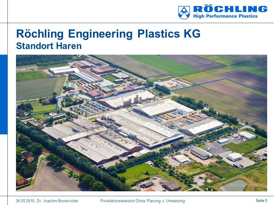 Röchling Engineering Plastics KG Standort Haren